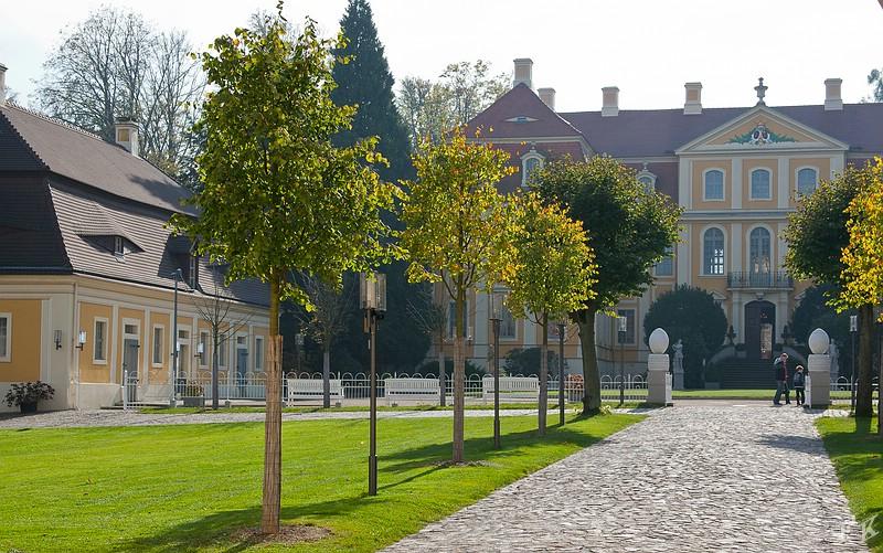 Rammenau Innenhof