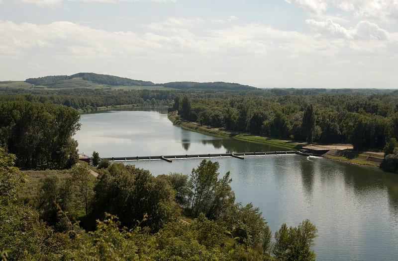 Rhein bei Sasbach